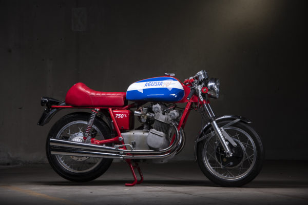 MV Agusta, collection, Retromobile 2019 - © Artcurial