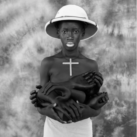 Fabrice Monteiro, Ptit noir 2017 © Courtesy Galerie MAGNIN-A