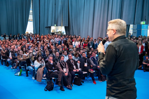 Frank Thelen @ Internet World EXPO 2019 am Dienstag (12.03.2019) in München. © Marc Müller_Internet World Expo 2019