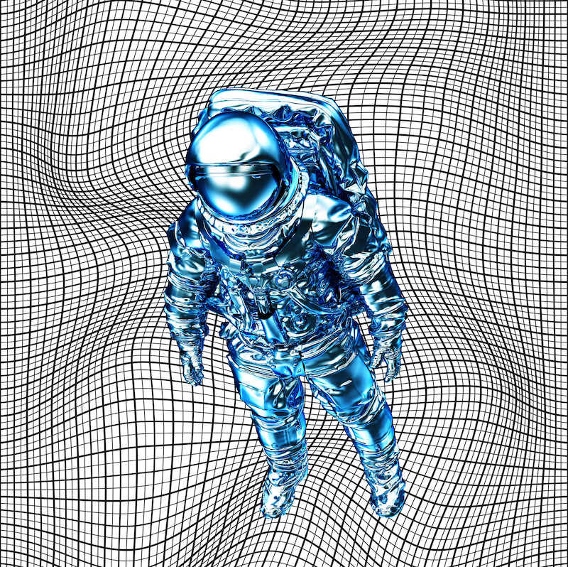 Peter Kogler Ohne Titel, 2019 Digitaldruck auf Aluminium © ERES-Stiftung