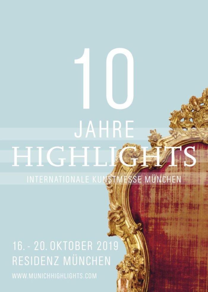 Highlights - Internationale Kunstmesse München - GmbH, Amalienstrasse 15, 80333 München, Deutschland © Highlights