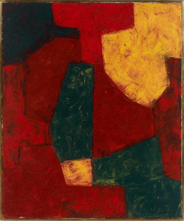 Serge Poliakoff: Composition abstraite 1963-64 © Artcurial