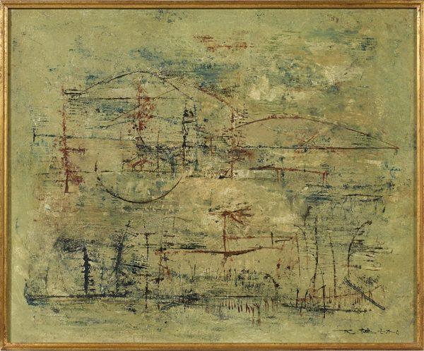 Zao Wou-ki: Sans Titre, 1952 © Artcurial