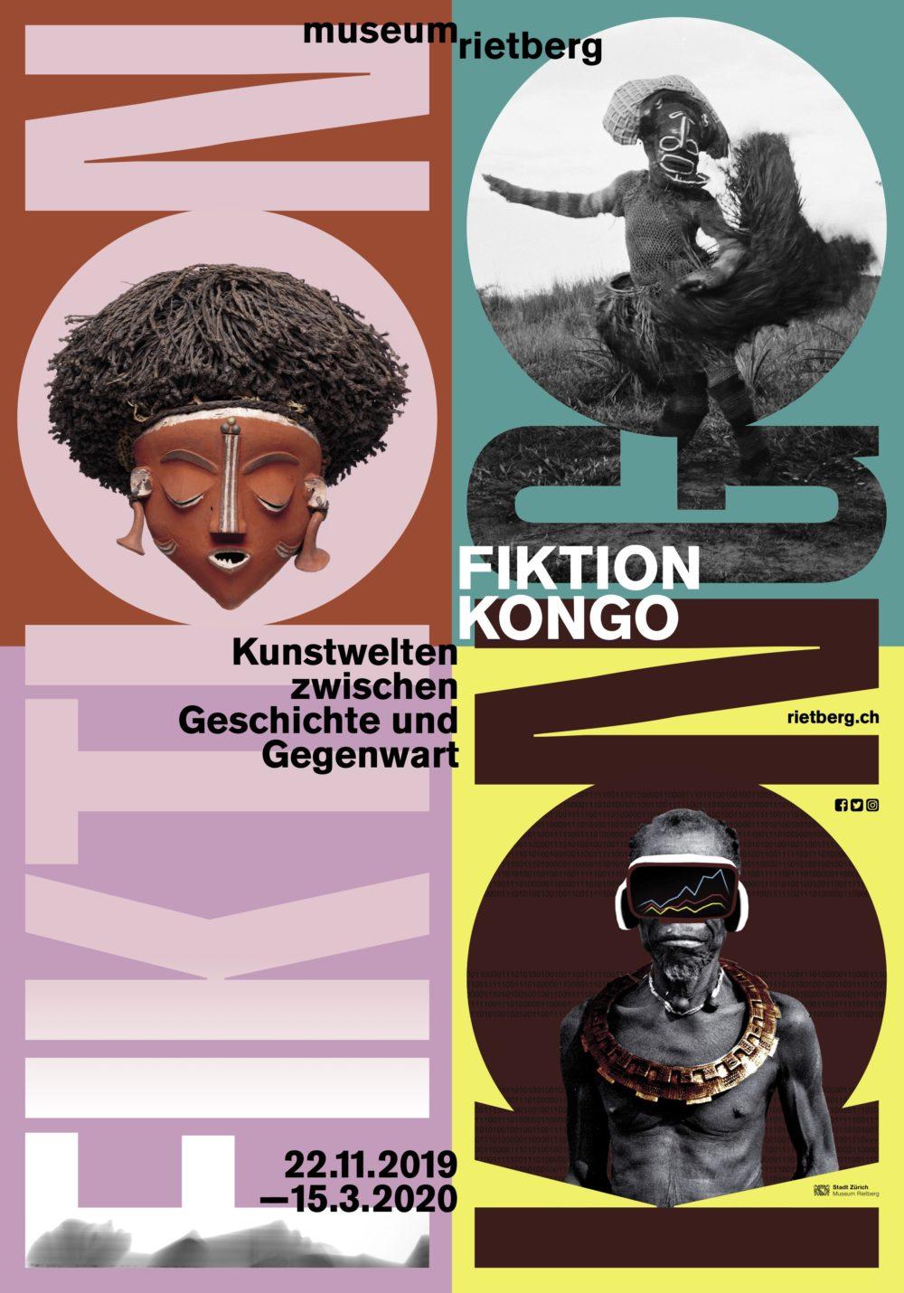 Fiktion Kongo - Austellungsposter © Museum Rietberg