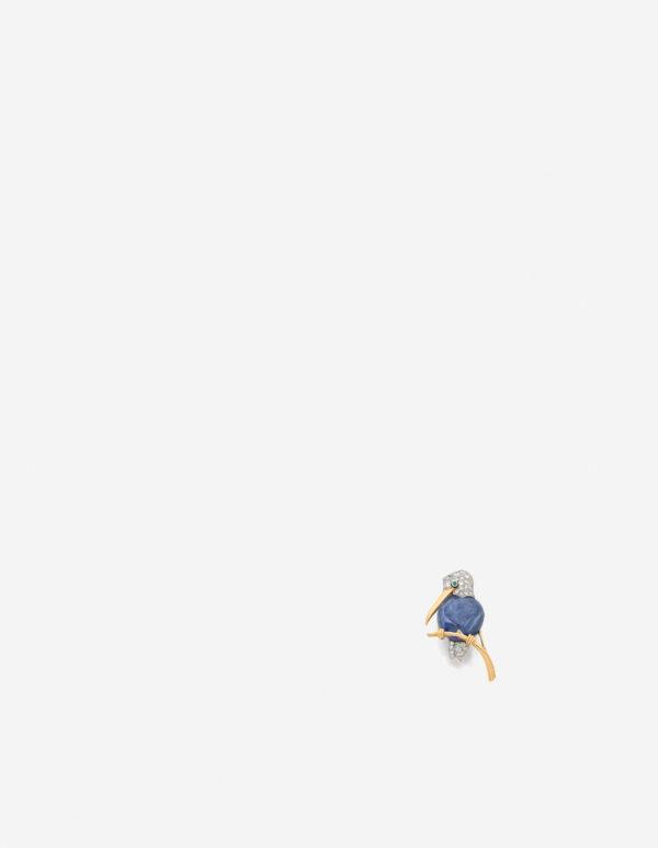CARTIER, Clip de corsage en platine et or jaune 18k © Artcurial