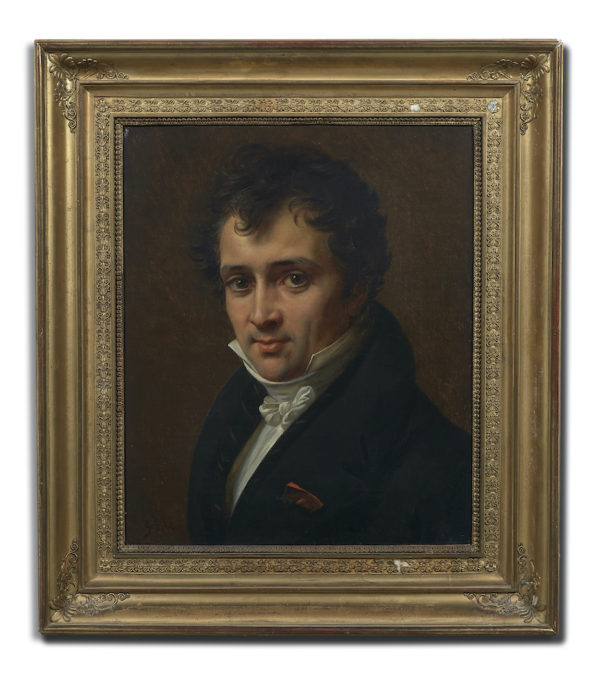 Baron Gros: Portrait d'Antoine César Becquerel © Artcurial