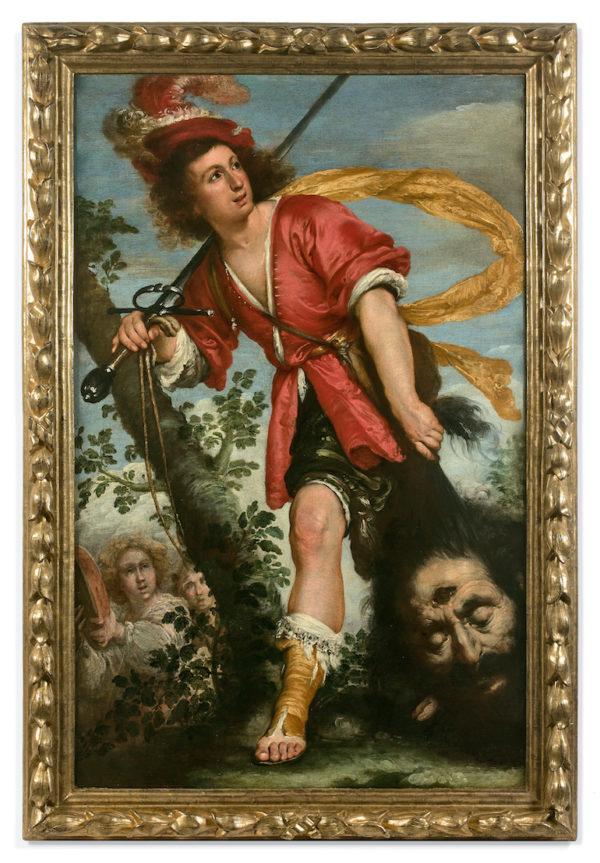 Bernardo Strozzi: David et Goliath © Artcurial