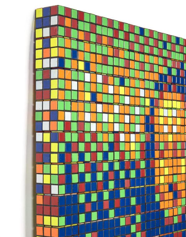 Invader, Rubik Mona Lisa (2005) © Artcurial