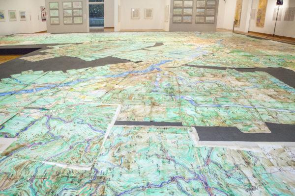 """Michael Golz: """"Athosland"""" in der vergangenen euward-Ausstellung 2018, © Augustinum"""