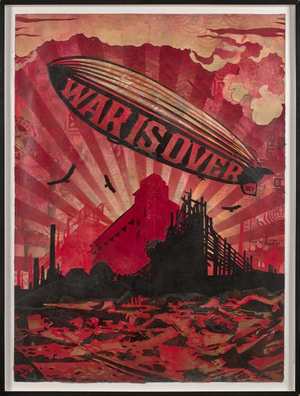 Shepard Fairey, War is Over © Artcurial